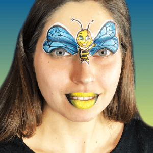 Bumble Bee Design Video Tutorial by Athena Zhe