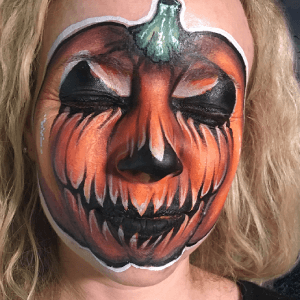 Scary Pumpkin Design Video by Athena Zhe
