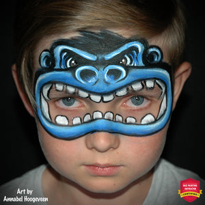 Monkey Business - An Animated Gorilla Mask by Annabel Hoogeveen