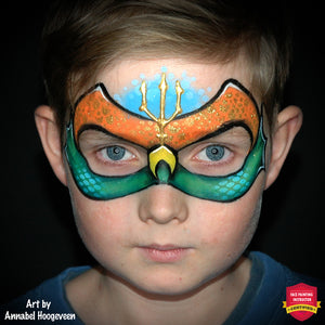 Aquaman Mask by Annabel Hoogeveen