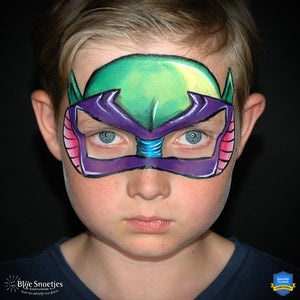 Colorful Piccolo (Dragon Ball) Mask by Annabel Hoogeveen