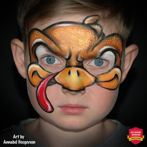Angry Turkey Mask by Annabel Hoogeveen