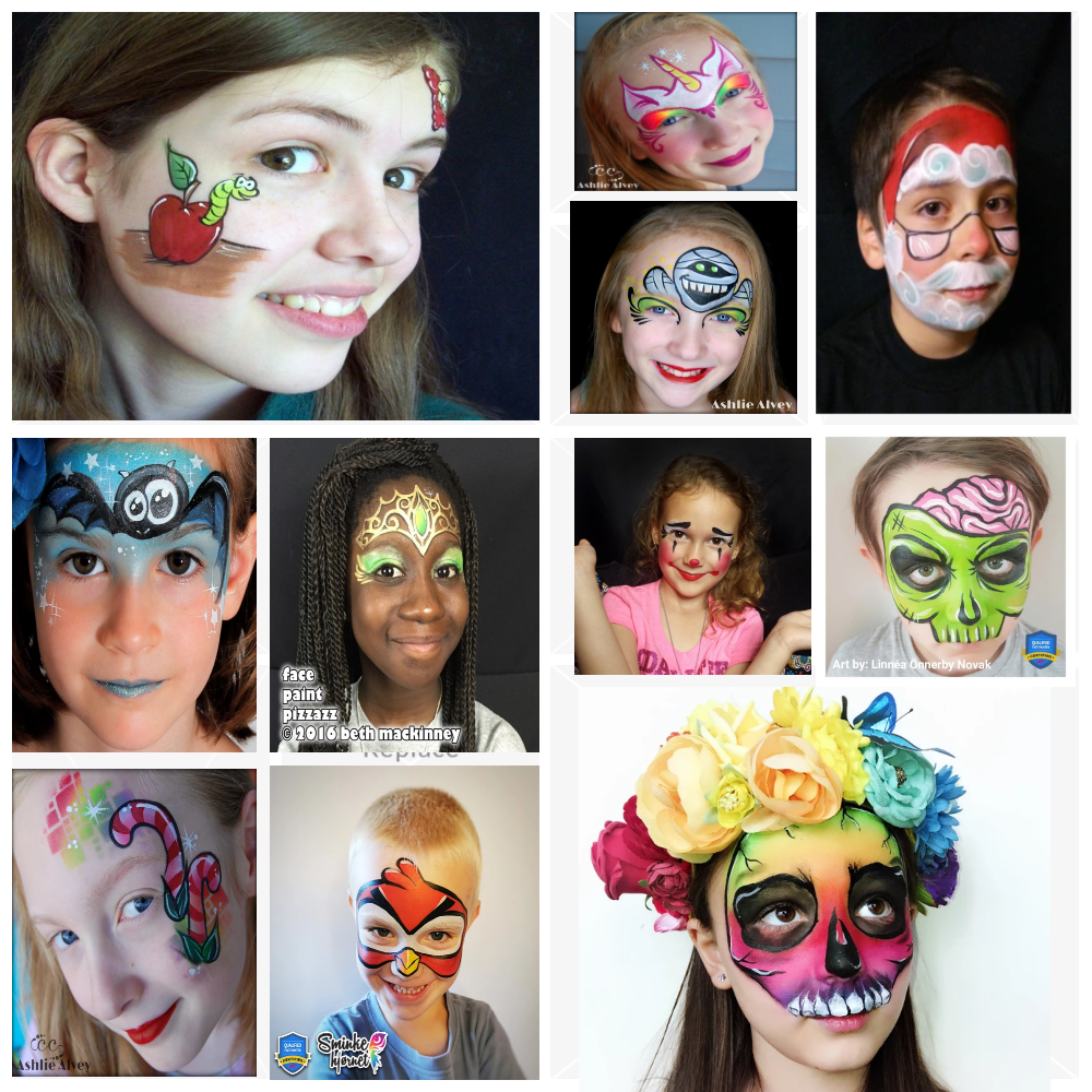 30 Quick & Easy Face Paint Ideas For Kids: Tutorials & Videos