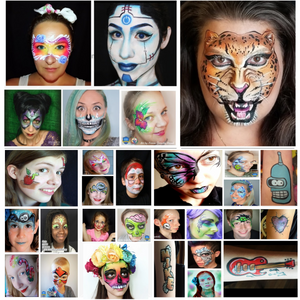 90 Quick & Easy Face Paint Ideas