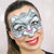 Snow Leopard Face Paint Video by Marta Ortega