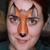 Fox Mask Face Paint Video by Ana Cedoviste