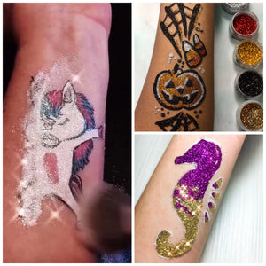 Top 3 Freehand Glitter Tattoo Ideas