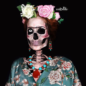 Frida Khalo Skull Video by Ana Cedoviste