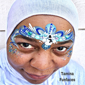 Winter Blues Princess Crown by Tamina Funfaces