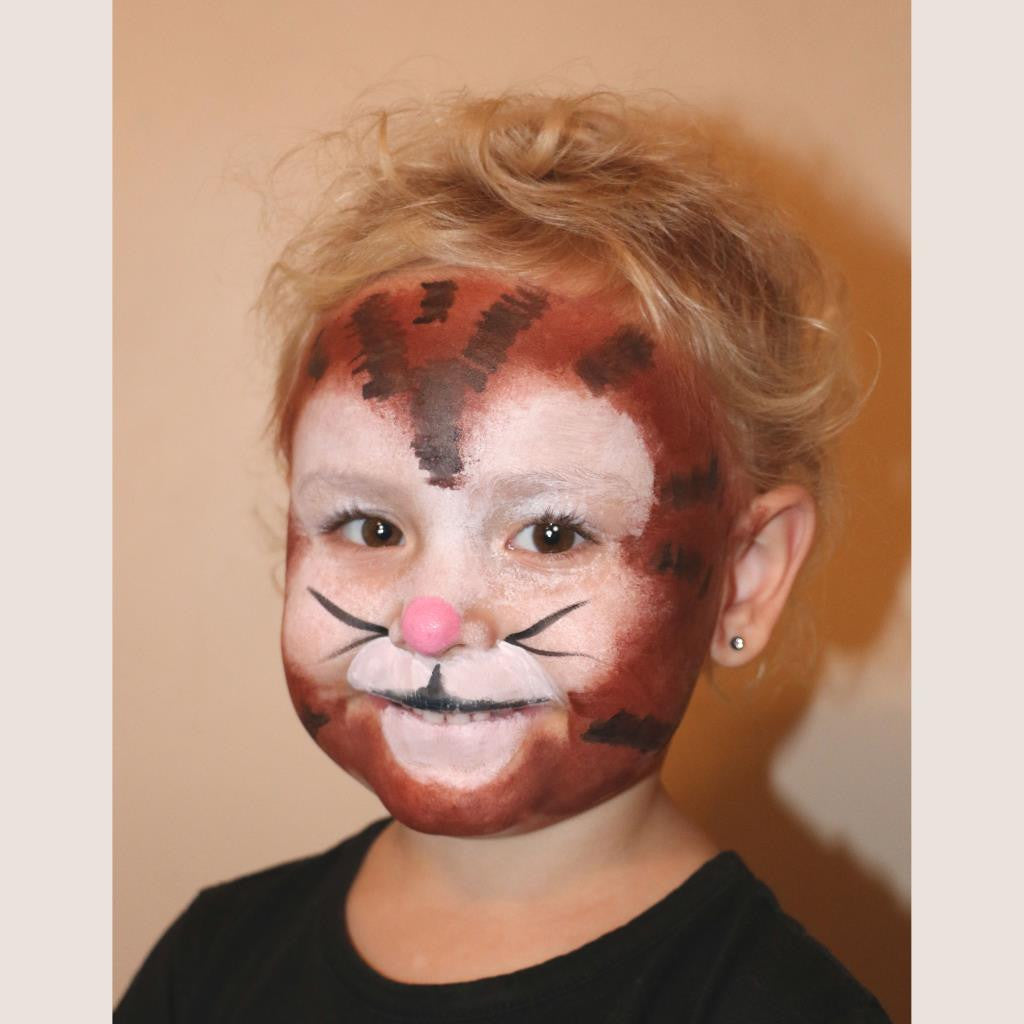 Lil' Kitty Face Paint Design