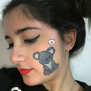 Cute Koala Cheek Design by Francesca Marchitelli
