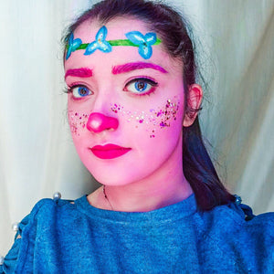 Trolls Poppy Face Paint Video by Francesca Marchitelli