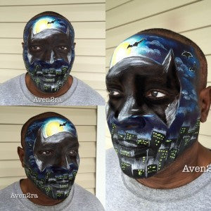 Tutorial: Batman Full Face Mask