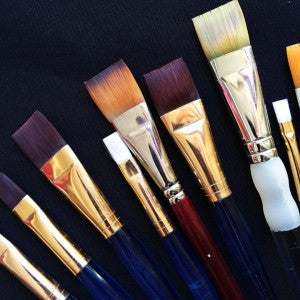 Choosing Basic Brushes For Face Painting
