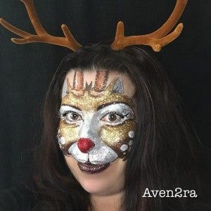 Tutorial: Glam Reindeer Design