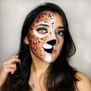 Leopard Half Face Video by Francesca Marchitelli
