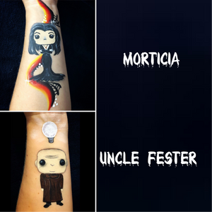 Addams Family Arm Paint Design by Marina