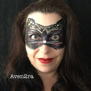 Cat Lace Mask Design Tutorial