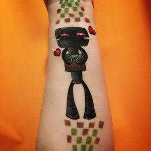 Minecraft Enderman Arm Design by Marina
