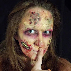 Realistic Creepy Zombie Look by Marina