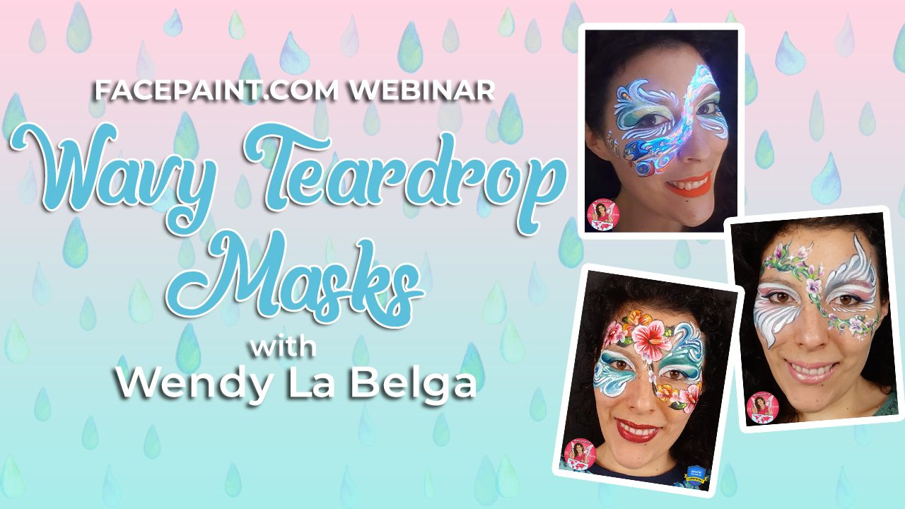 Webinar: Wavy Teardrop Masks with Wendy La Belga