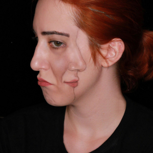 Profile Illusion Face Paint Video by Ana Cedoviste