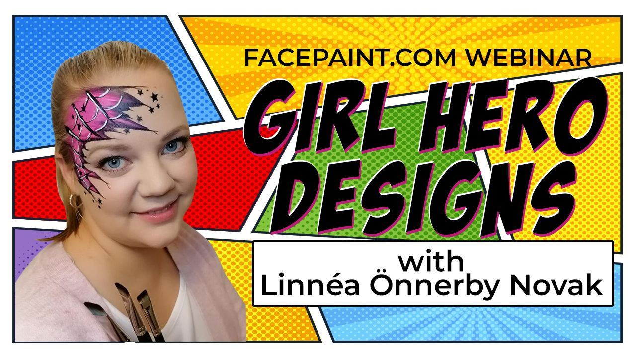 Webinar: Girl Hero Designs with Linnéa Önnerby Novak