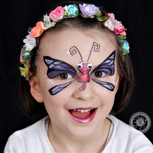 Cute Dragonfly Mask by - Belén te Pinta