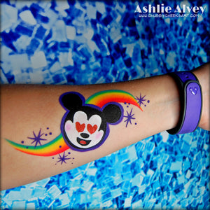 Mickey Mouse Emoji Design by Ashlie Alvey