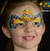 Miss Sunshine Face Paint Mask Video by Athena Zhe