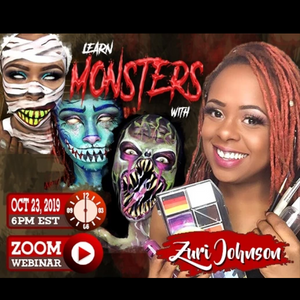 Webinar: Monster Face Paint Designs With Zuri FX
