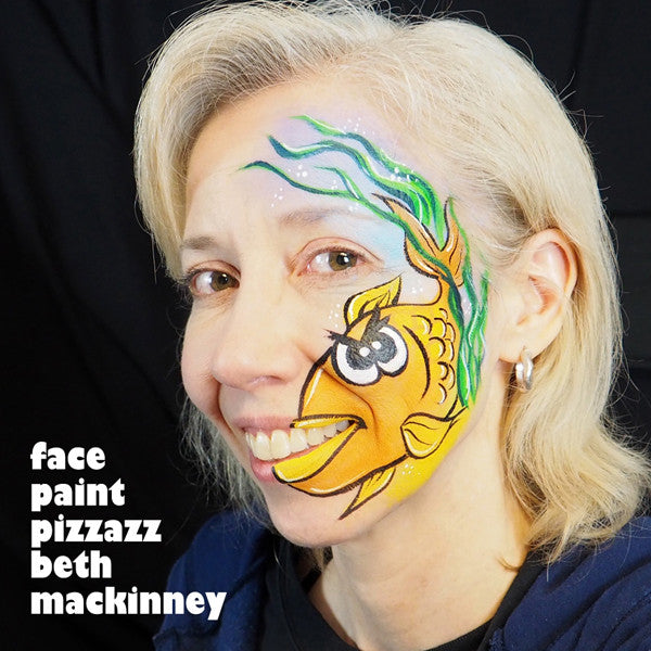 Video Tutorial: The Grumpy Fish Face Paint Design