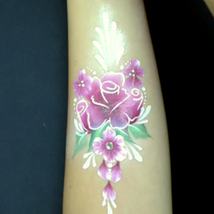 Rose Arm Design Video Tutorial