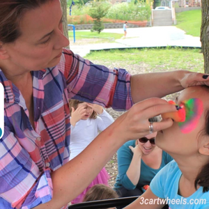 How to Get Your First Face Painting Gig