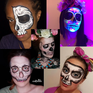 Top 5 Skeleton Face Paint Designs & Videos