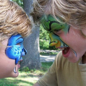 The Art of War for Face Painters: Taking a Break in the Middle