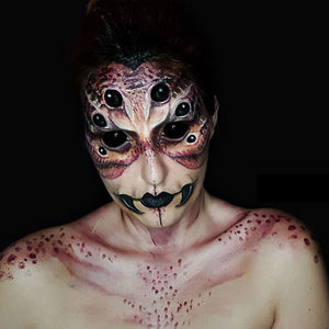 Spider Queen Face Paint Video by Ana Cedoviste