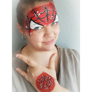 Spiderman Makeup Video by Linnéa Önnerby Novak