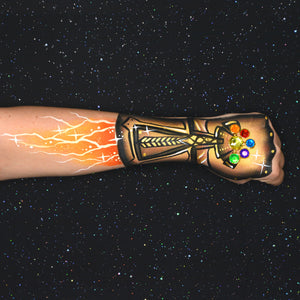 "Infinity Stones Arm Design Inspired by ""Avengers: Infinity War"" Movie"