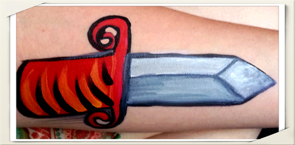 Arm Art: More Room! Here is a Sword!