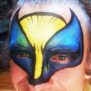 How to Face Paint a Wolverine Mask