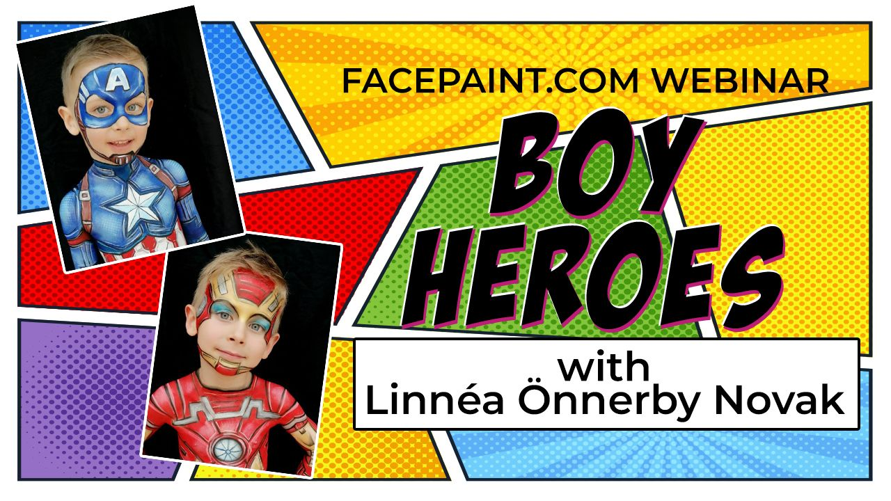 Webinar: Boy Heroes with Linnéa Önnerby Novak