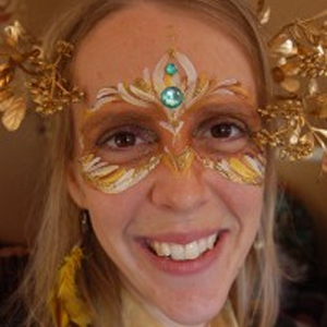 How to Face Paint a Sun Goddess