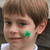Easy Shamrock Face Paint Design Video Tutorial by Kiki