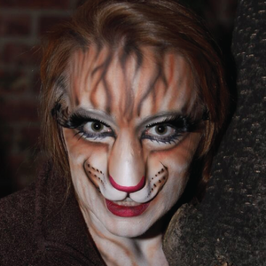 Cat Prosthetic Face Paint Video Tutorial by Athena Zhe