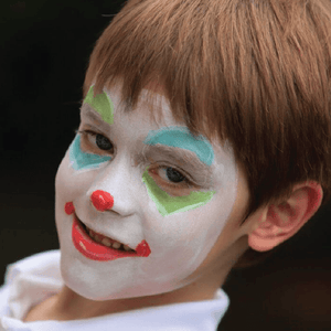 Top 4 Clown Face Paint Tutorials: How to Paint a Clown Face Step by Step - Videos & Tutorials