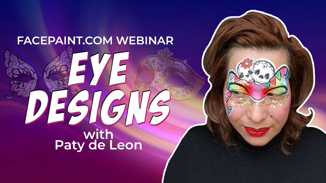 Webinar: Eye Designs with Paty De Leon
