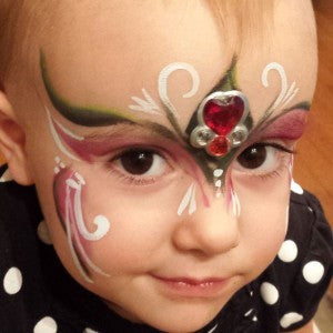 A Christmas Fairy Mask with Bling