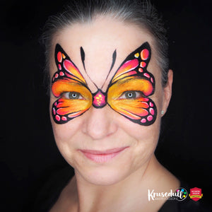 Tropical butterfly by Kristin Olsson