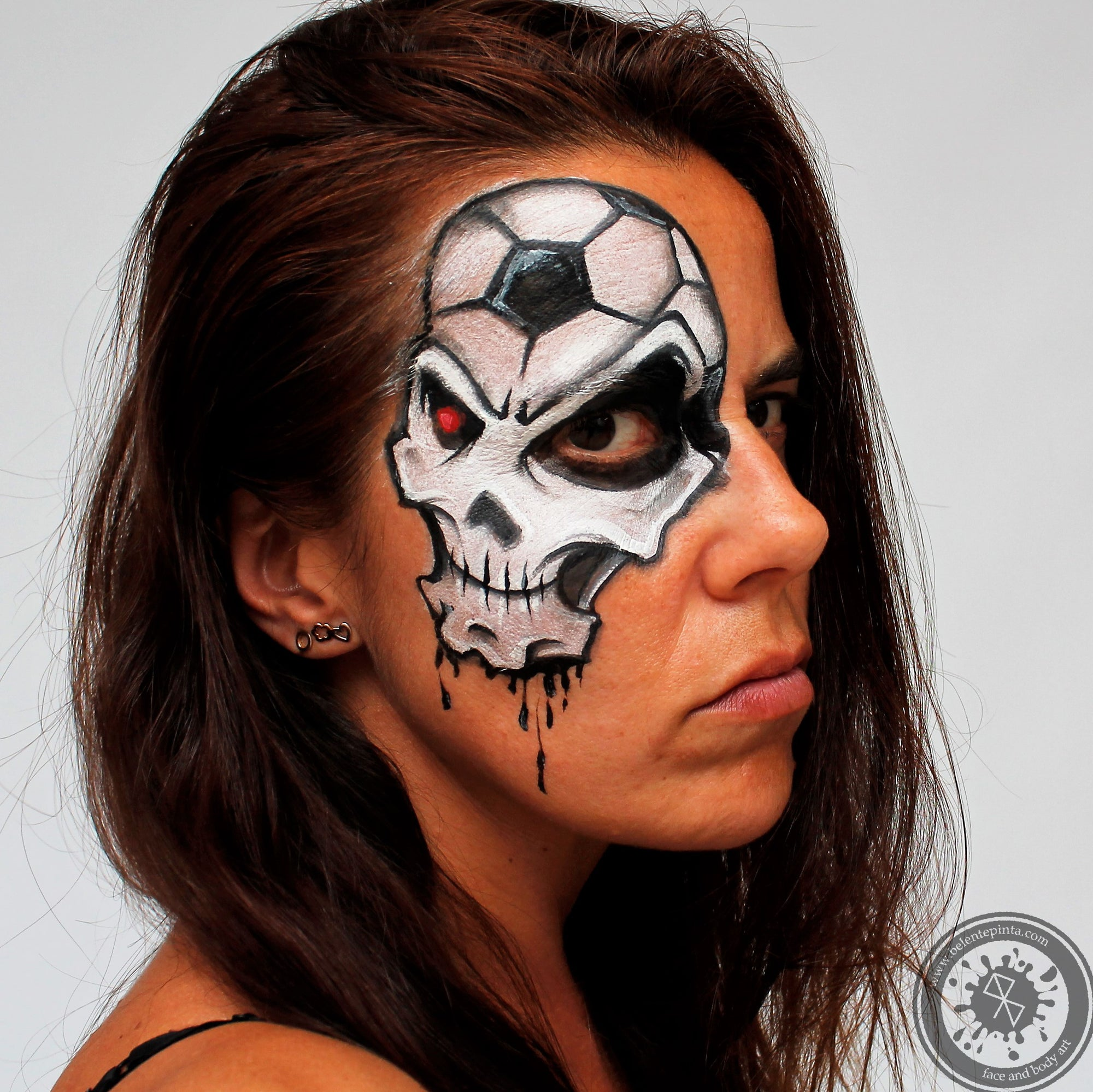 Sports Skull by Belén te Pinta